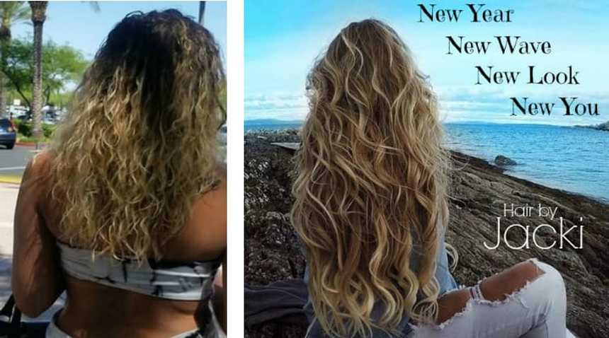 Beach Wave Perm Summerlin Las Vegas